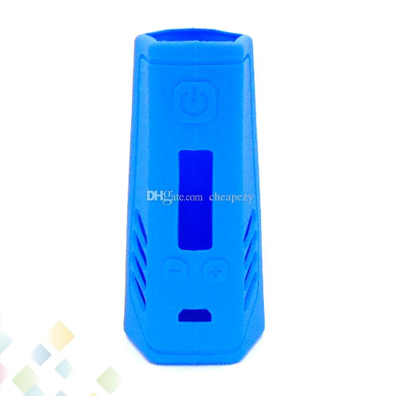 Triade DNA 250W Box Mod Proect Case Soft Silicone Rubber Carry Bag Cover for DNA 250 TC Mods Protective Skin DHL Free
