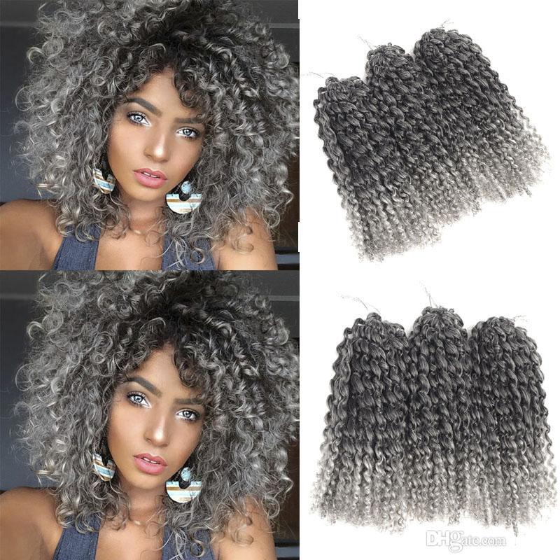 Hot Sale Jerry Curl Crochet Hair Extensions More Color 10inch