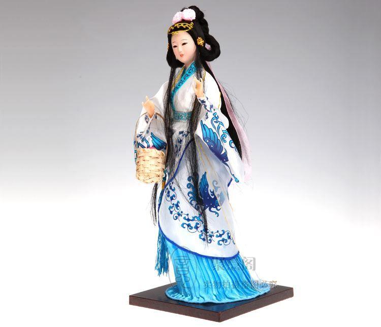 Pechino Tang Fang bambola di seta artigianato tradizionale regalo d'affari Arredamento La Casa decorazione quattro bellezza Xi Shi