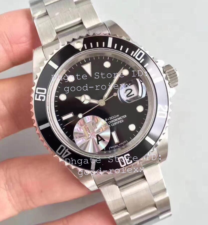 87d701fdf848 Compre Estilo Antiguo Vintage Hombres ETA Automático 3135 Relojes Hombres  Aleación De Acero Negro Bisel Fecha Relojes Superlativos 16610 Relojes De  Pulsera ...