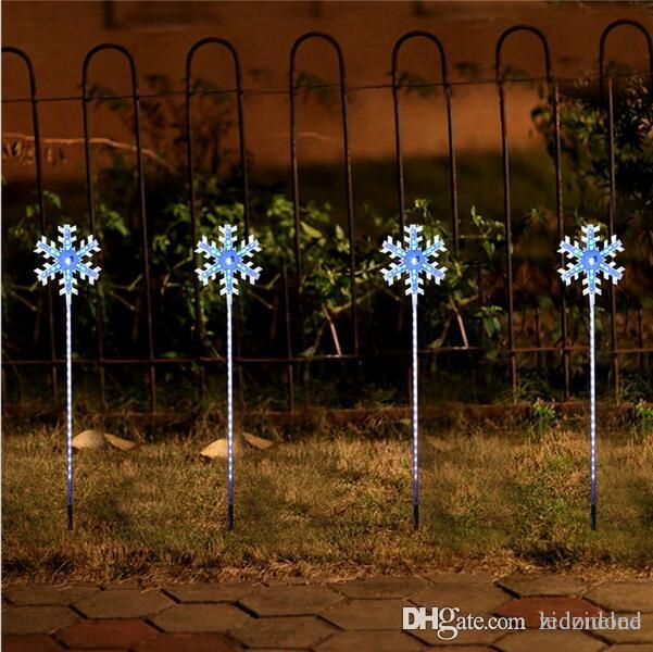 online cheap christmas lights outdoor led snowflake lights navidad outdoor decoration light home outdoor light led lawn lighting by ledzidone dhgatecom