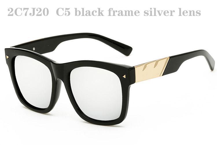 Erkek Kadınlar için Güneş Gözlüğü Lüks Erkek Sunglass Moda Sunglases Retro Güneş Gözlükleri Trendy Bayanlar Güneş Gözlüğü Tasarımcı Güneş Gözlüğü 2C7J20