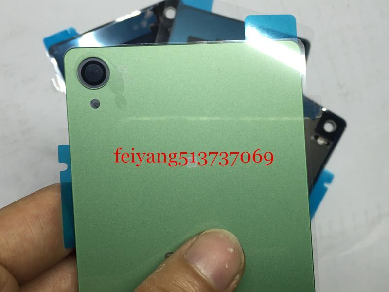 Sony Xperia Z3 için bir kalite Konut Pil Kapağı Durumda D6603 arka cam Z3 D6603 Arka Pil Kapı Arka Konut kapak