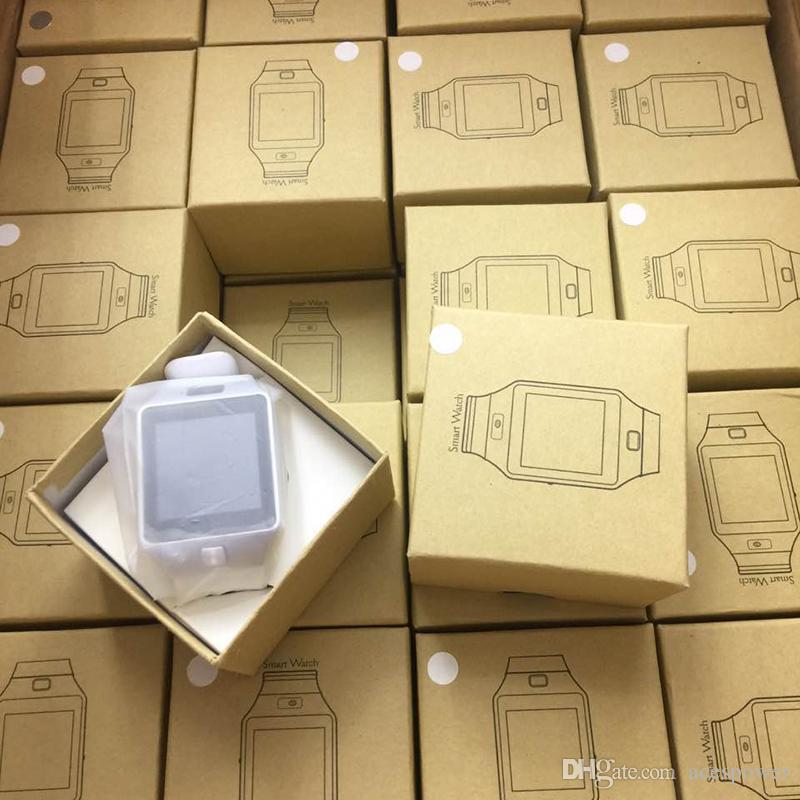 Smartwatch DZ09 Akıllı Seyretmek Telefon Kamera SIM Kart Android IOS Telefonları Için Akıllı Cep Telefonu Saatler Uyku Olabilir Kayıt Devlet