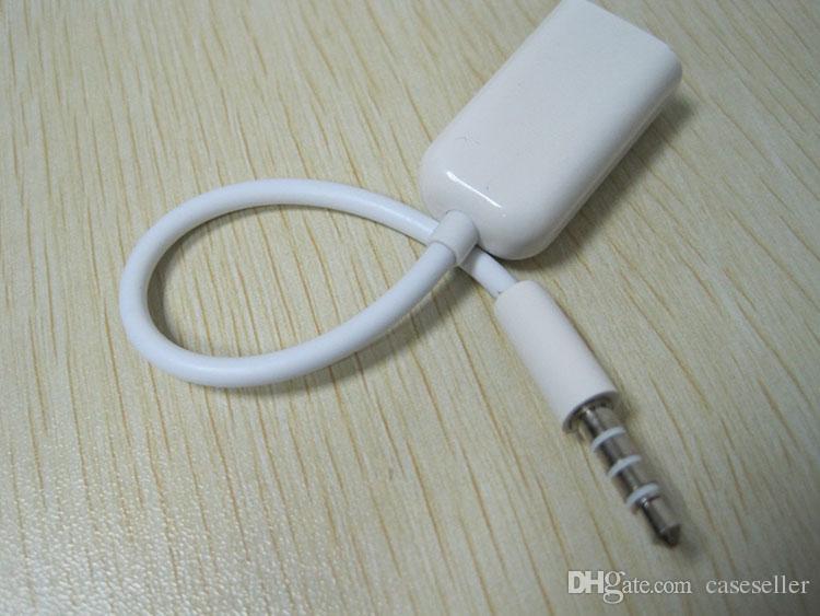 Auricular de auriculares de 3,5 mm, macho, 1 a 2, adaptador de cable de audio estéreo divisor, hembras y dobles, para iPod iPhone iPad