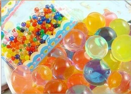 2.5mm 3g Perle D'eau Colorée Forme De Perle En Cristal De Sol Perles D'eau Ballons Deco Cristal Boue Boll Cristal Plante Perles De Sol