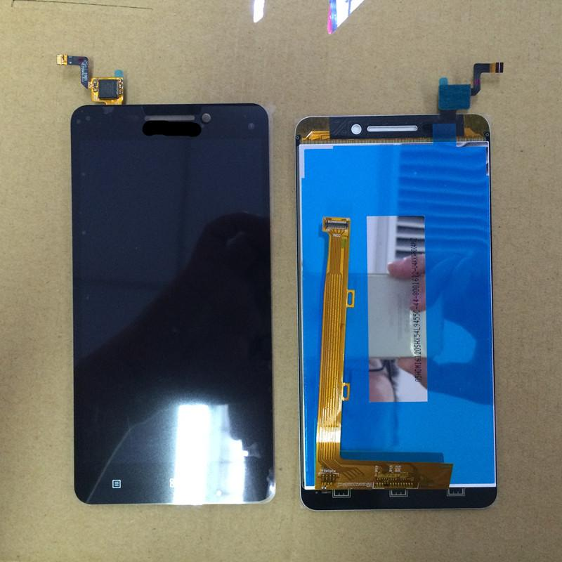 Wholesale- For Lenovo A5000 LCD Display Touch Screen Panel Digital  replacement Parts For A5000 5 0 Smartphone Free shipping Track Number