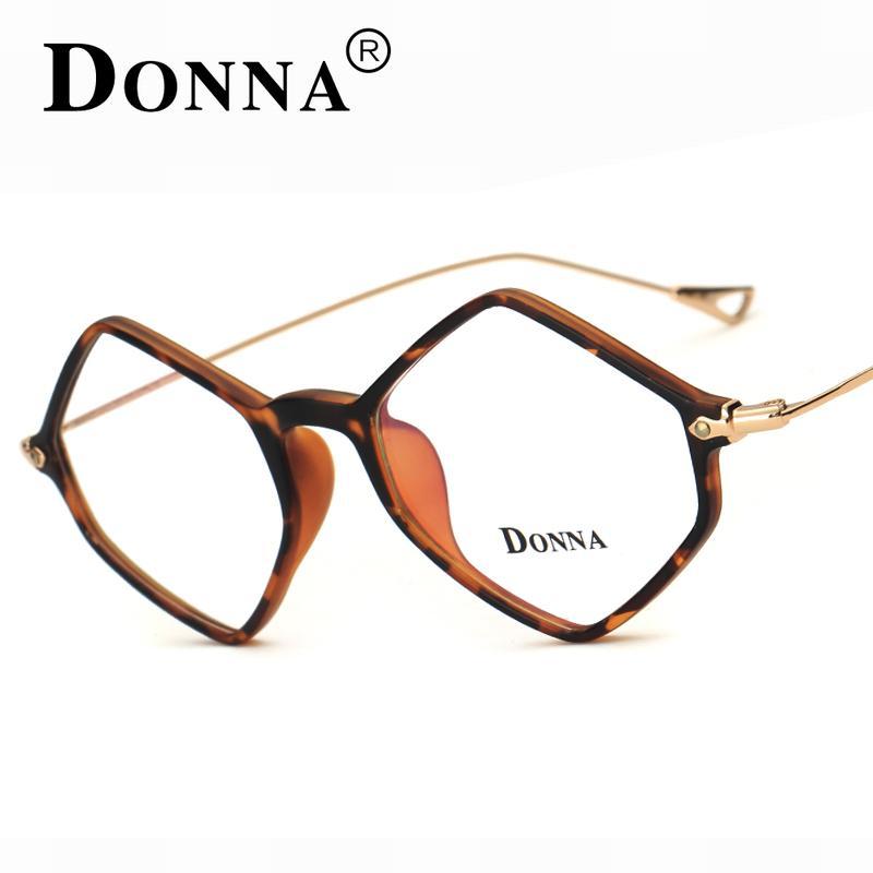 bd4588b074 2019 Wholesale Donna New Prescription Eyewear Frames Union Rhombus  Eyeglasses For Men Womens Eyeglass Frame Ultra Light Frame Clear DN15 From  Goodlines