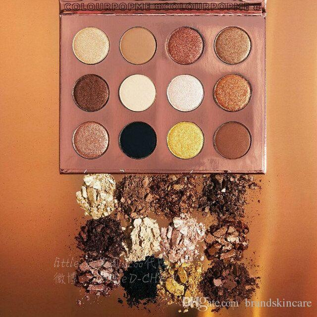 Newest Colourpop I THINK I LOVE YOU Pressed powder shadow palette Colourpop eyeshadow colour pop eye shadow