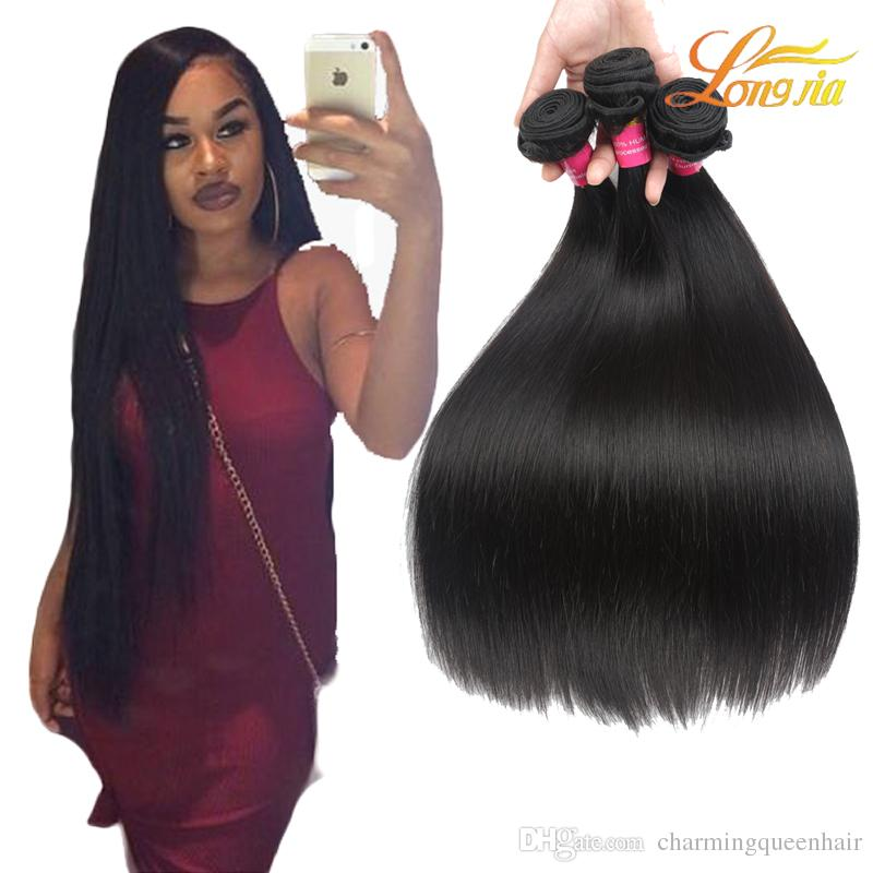 Top Quality 100 Human Hair Extension Straight Wholesale Price
