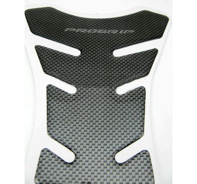 Al por mayor-envío gratis fibra de carbono Tank Pad Tankpad protector de la etiqueta engomada para la motocicleta universal