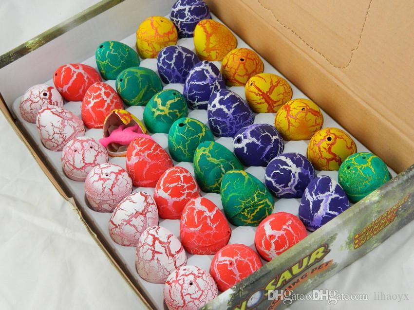 بيضة عيد الفصح البيض ديناصور ديناصور بيضة عيد الفصح متنوعة من الحيوانات البيض يمكن أن يفقس من الحيوانات اللعب الإبداعي 2.5 * 3.2CM a295