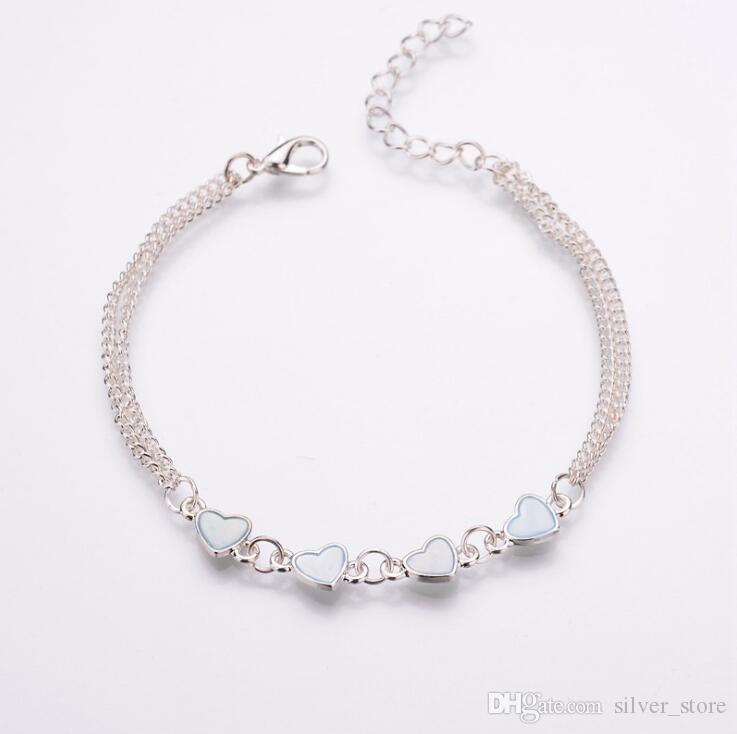 New arrival Bursts of love glowing fashion bracelet luminous bracelet FB546 a Link, Chain