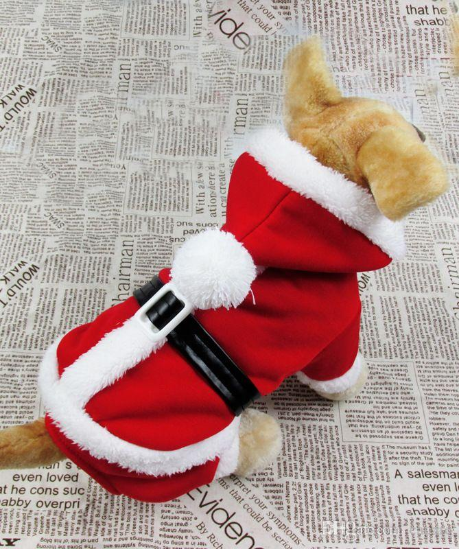Christmas Pajamas For Dogs.2018 New Cheap Christmas Dog Clothes Cute Festival Dog Clothes Red Fleece Pajamas Dog Jumpsuit Winter Overalls For Dogs Velvet Hoody Cap010 From