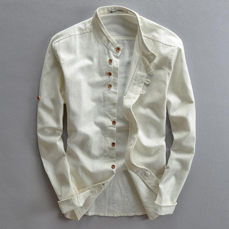 56e213552d42b 2019 Wholesale Plus Size Shirts Cotton Linen Men Shirt Long Sleeve Summer  Style Hawaiian Shirts Sexy Slim Fit Men Clothes 2016 New Arrival From  Odelettu
