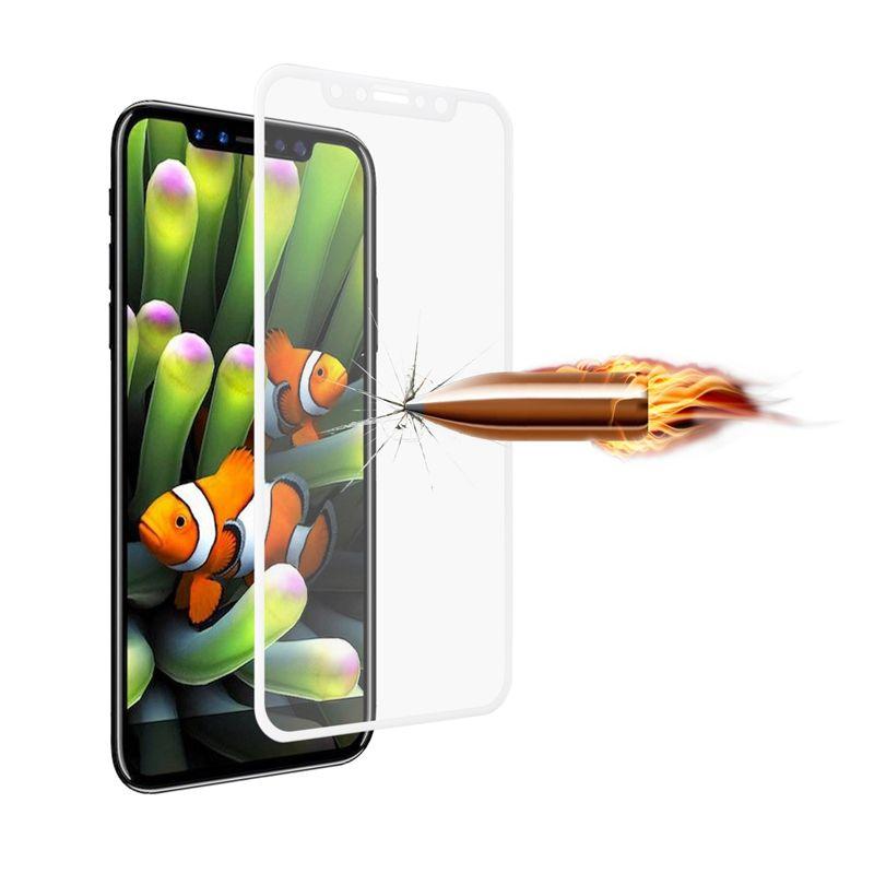 5D Avant Verre Trempé Pour Iphone XR XS MAX XS 5.8 pouce 8 7 6 6S Film Clear Full Screen Protector Film Blanc Noir Avec Retail Pacakge