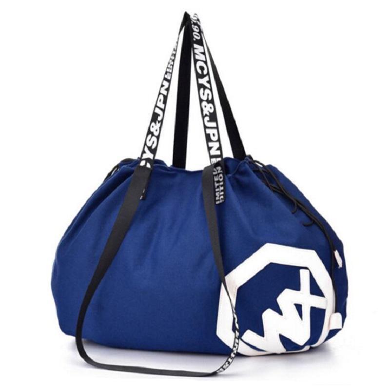 238dd035220e New Men Large Big Holdall Gym Bag Sports Bag For Sport Travel Women Fitness  Yoga Gym Bag 56 75L Cheap Yoga Clothes Bikram Yoga Clothes From Hlq1027