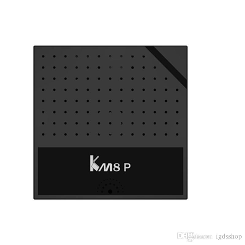 KM8P TV Box Android 6.0 Amlogic S912 Octa Core H.265 4K 1GB/8GB 2.4G WiFi KM8 P Media Player Smart TV Box