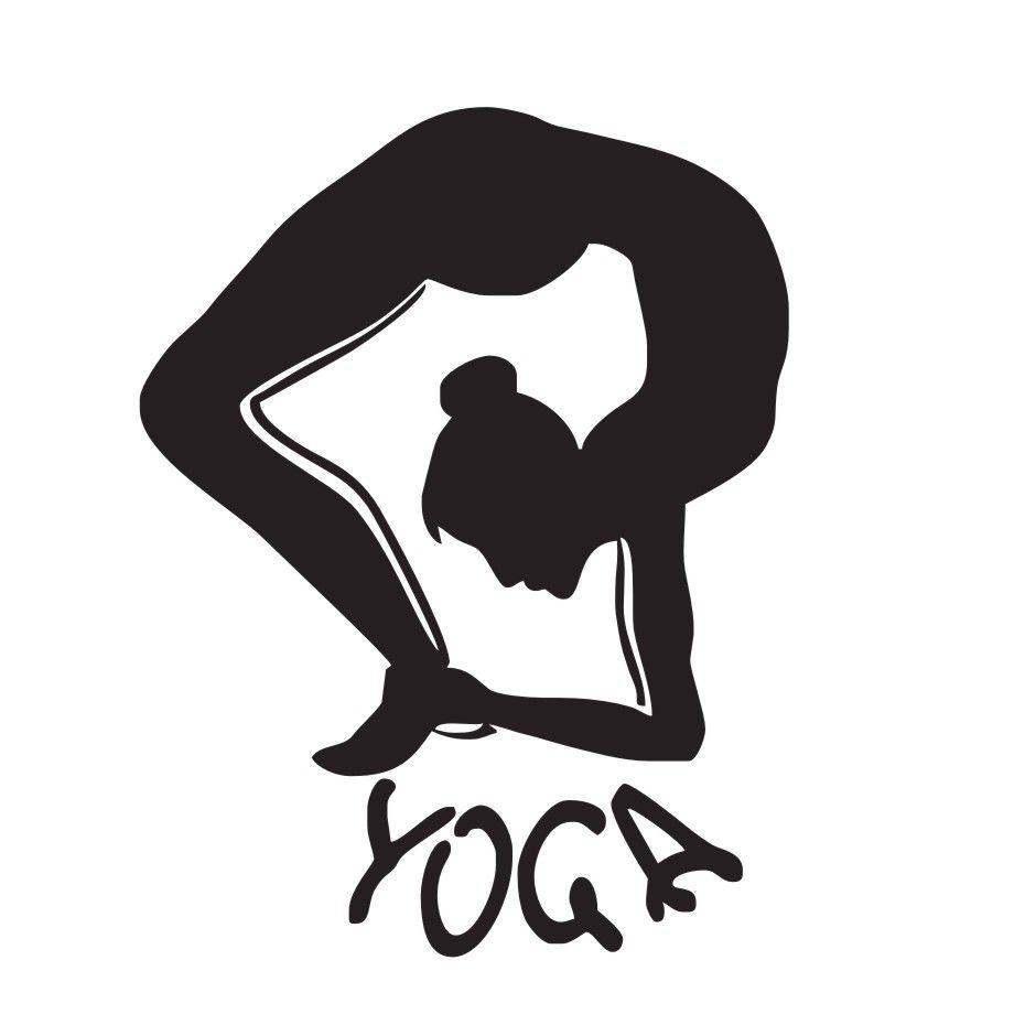 Home Decor Wall Stickers Yoga Fitness Dance Vinyl Art Wall Decals Meditation Philosophy New Window Stickers Waterproof