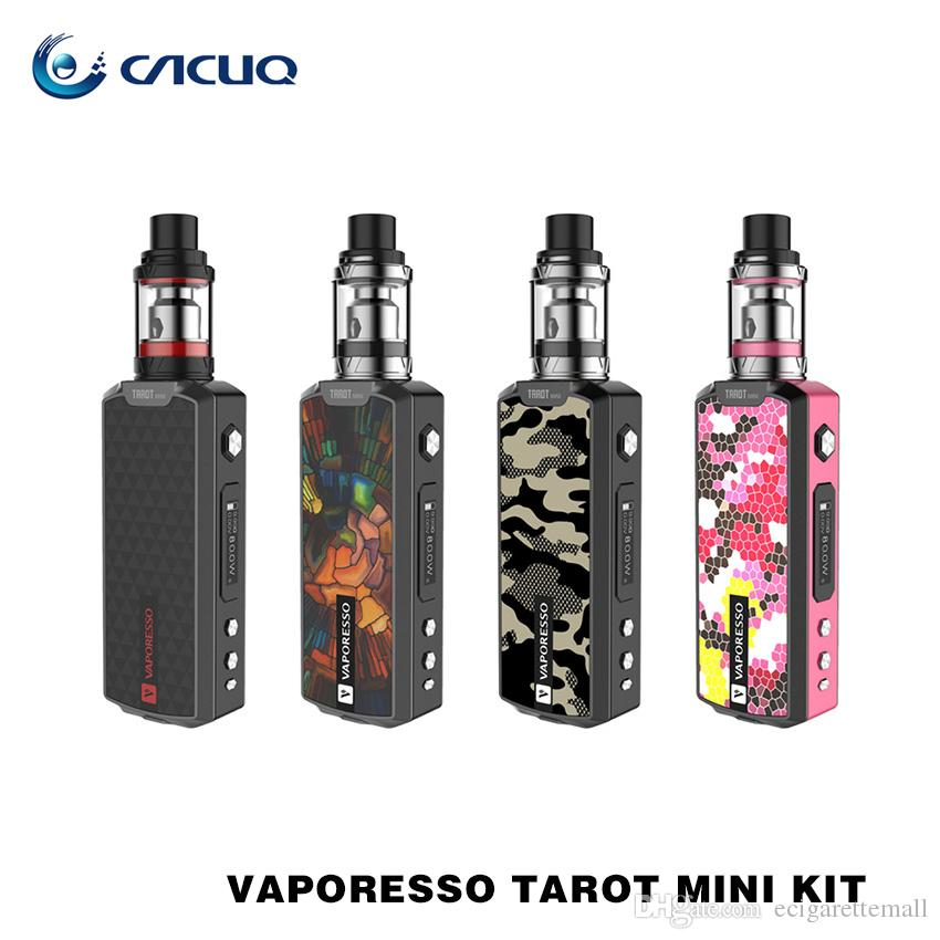 Vaporesso Tarot Mini Kit e cigarette starter kit with 2ml vaporizer Veco Tank EUC coil 80w tarot mini vape mod Full Kit