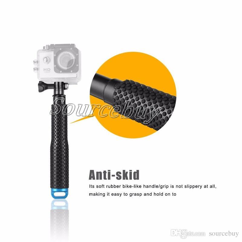 "Hot Aluminum 19"" Lengthen 95cm GoPro hero 3 Selfie Stick self pole Handheld Monopod for Go pro Hero5 4 3+ Xiaomi yi SJCAM"