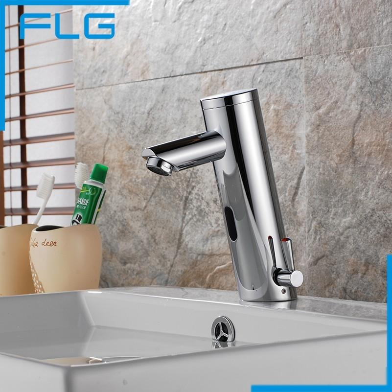 Best Motion Sensor Faucet Automatic Hand Touchless Tap Hot Cold ...