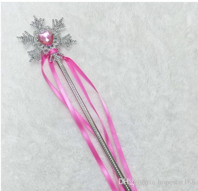 Fée Baguette rubans Banderoles de soirée de mariage de Noël flocon de neige Gem Sticks magique Confetti Party Props Events Décoration