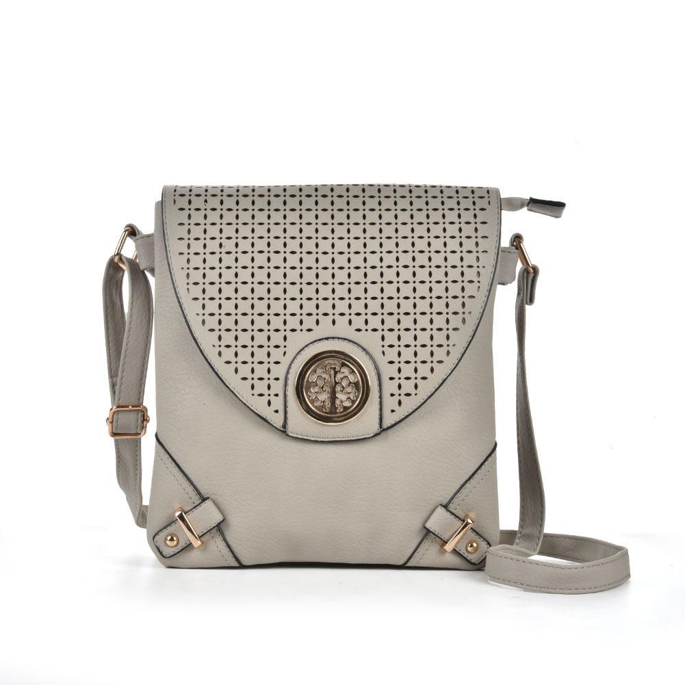 270a9a1df7ab Casual Vintage Lady Flap Flat Crossbody Shoulder Bag Bag Brown Grey  Coverage Plain Women Mini Small Hasp Fashion Women Hollow Out VK5025-1