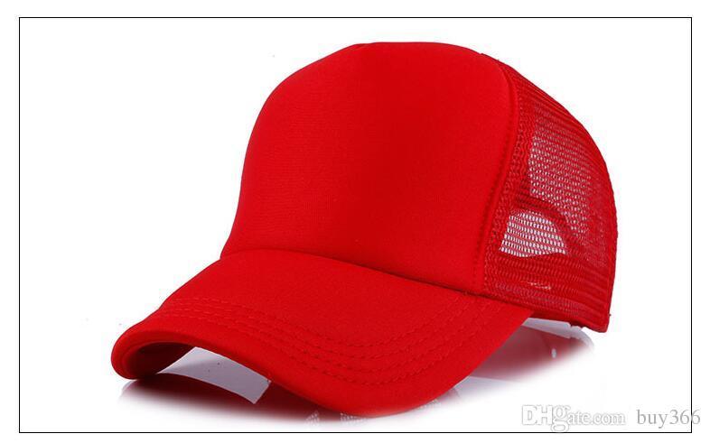 قبعات سائق الشاحنة الإعلان قبعات شبكة الشمس قبعة الانتخابات الأنشطة فارغة Snapback شاحنة قبعات مصنع مخصص شعار الرجال النساء قبعة بيسبول مسطحة
