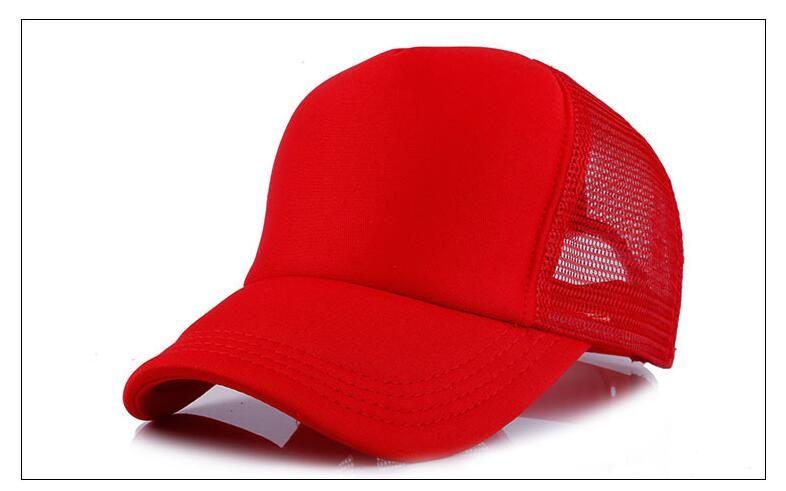 Trucker Caps Advertising Sun Mesh Cap Election Hats Activities Blank Snapback Truck Caps Factory Custom LOGO Men Women Baseball Flat Hat