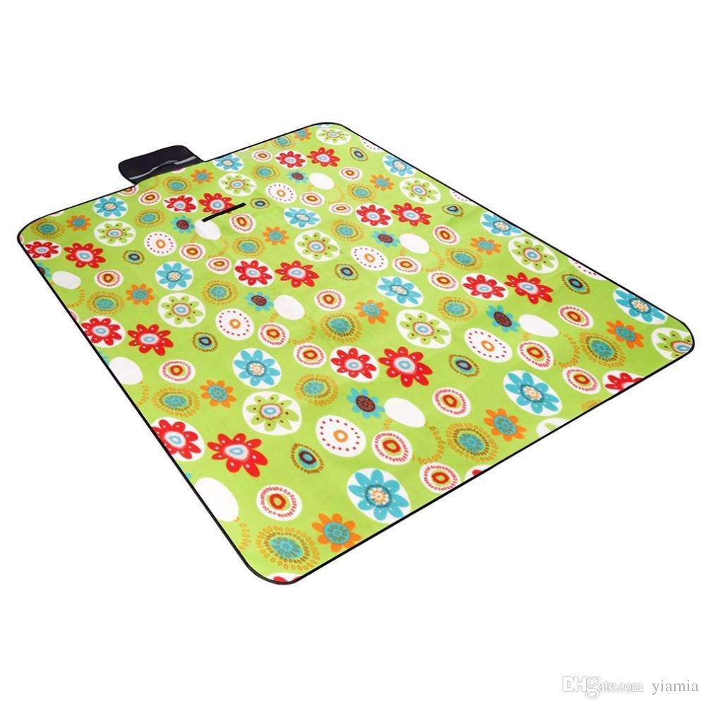 Rüzgar turu 200 * 150 cm çadır Açık kamp piknik mat nem geçirmez emekleme mat kalın Çadır ped Sıcak Satış