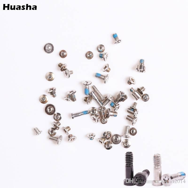 Silver Bottom Dock Screw Complete Screws Full Set Replacement Repair for iPhone 5 5s 6 Plus Mobile Accessories