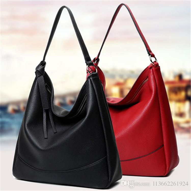 3a2cd4cec7 Korean Style Hobo Bag Messenger Ladies Bags Leather Shoulder Bags ...