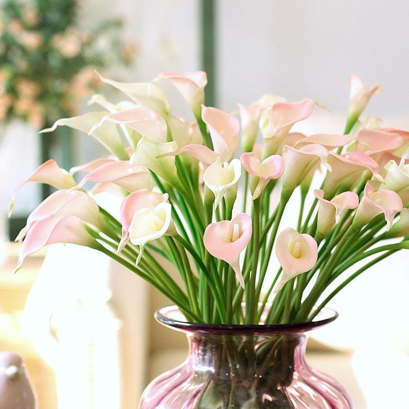 Grosshandel Grosshandelsneue Reale Noten Calla Lilie Kunstliche Blumen