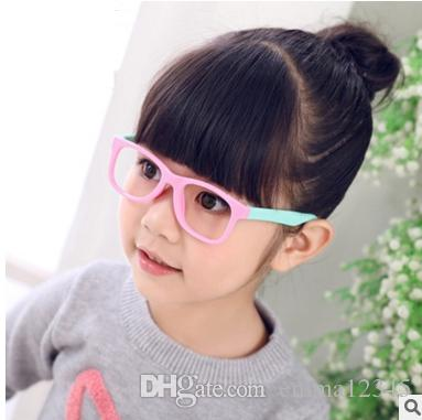 7059a593a19 2019 TR90 3 12 Years Kids Eyeglasses Frame Cute Brand Clear Designer Glasses  Frame S825 From Emma12345
