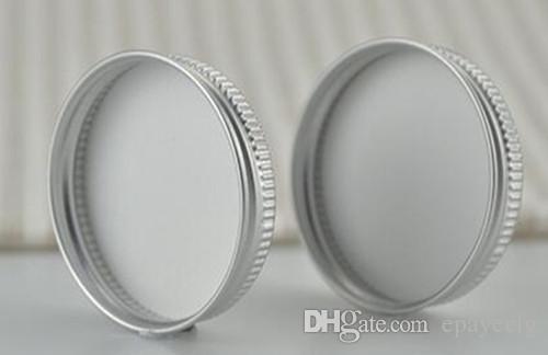 Bocal en aluminium bocal pot bocal 5g 10g 15g 30g 50g 100g bocal à lèvres en aluminium cosmétique vide bocal récipients en étain couvercle à vis