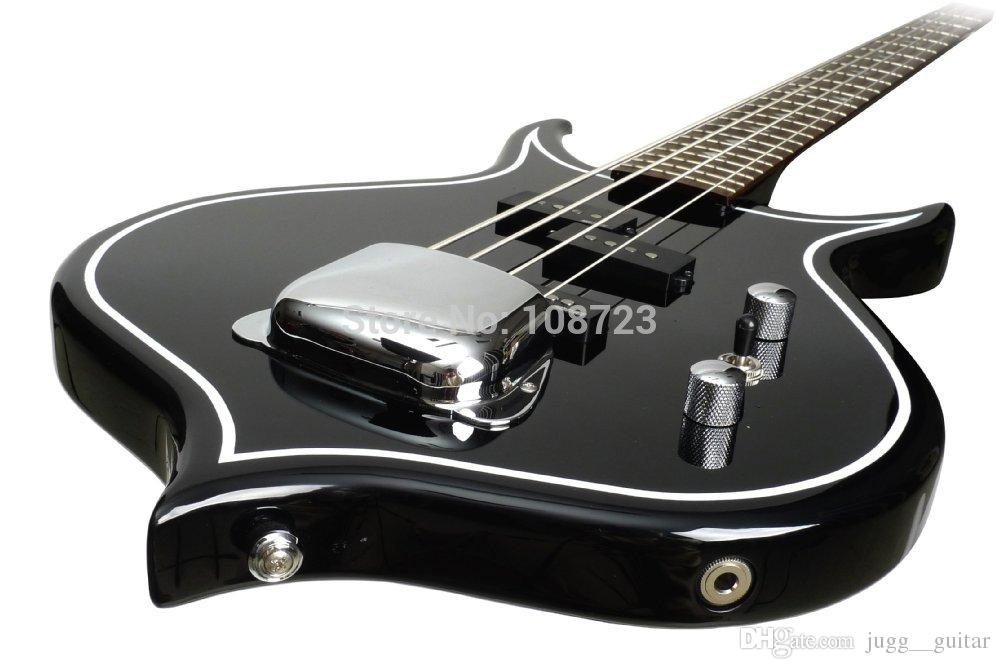 wholesale gene simmons punisher electric bass guitar mahogany body maple neck rosewood. Black Bedroom Furniture Sets. Home Design Ideas