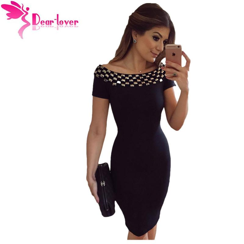 fc6c52171b9 Wholesale- Dear Lover Office Dresses New Stylish Sexy Party Little ...
