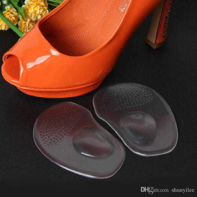 Silica Gel Ball Forefoot Silicone Shoe Pad Insoles Women's High Heel Cushion Meatarsal Support Feet Palm Care Pads Shoe Accessories ZA1606