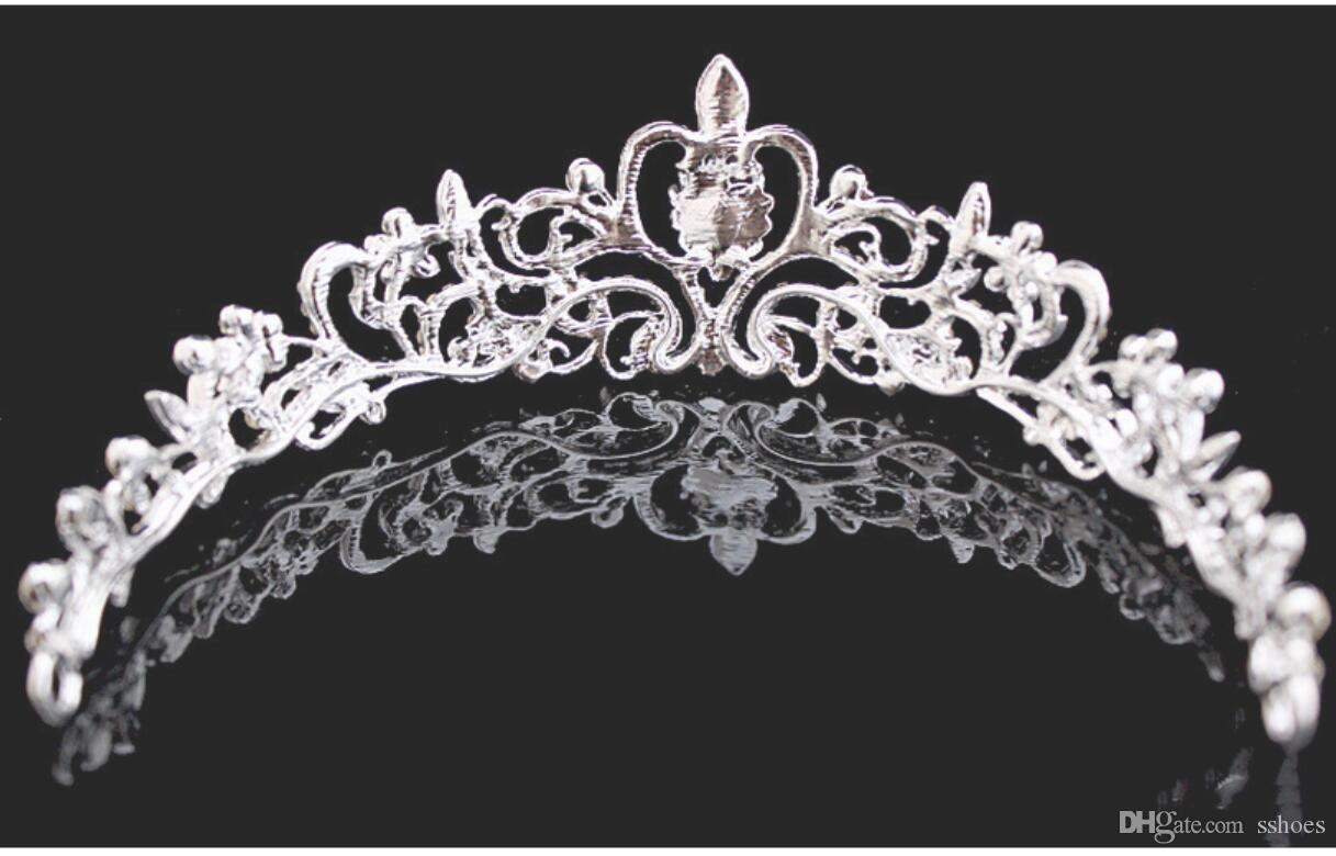 2017 Luxury Shinning Rhinestone Crystal Bridal Tiaras Crowns Women Wedding Party Jewelry Princess Bride Hair Accessories