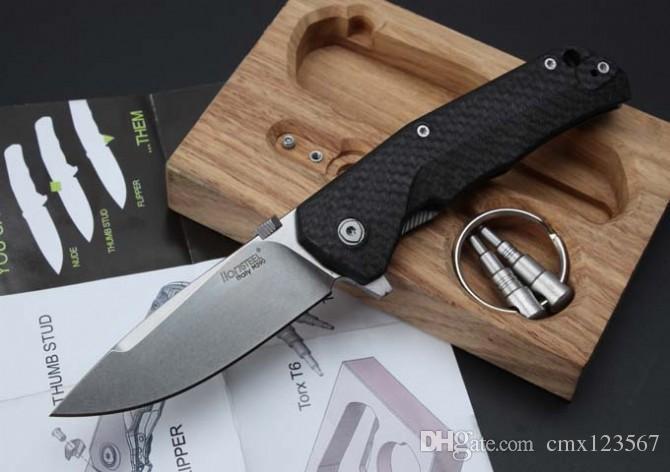 Ücretsiz nakliye, yüksek kaliteli çelik aslan titanyum alaşımlı bıçak, bıçak malzemesi M390. TC4.Outdoor kamp dağcılık araçları kolu