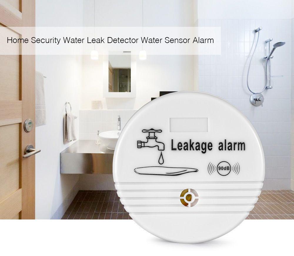 ABS Wireless Water Leak Detector Water Sensor Alarm Leak Alarm Home ...