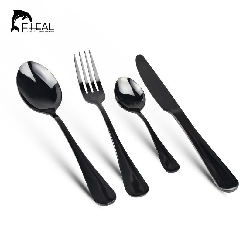 Fheal Stainless Steel Colorful Cutlery Set Rainbow Gold Plated Dinnerware Set Fork Knife For Wedding And Hotel Most Popular Dinnerware Sets Multi Color ...  sc 1 st  DHgate.com & Fheal Stainless Steel Colorful Cutlery Set Rainbow Gold Plated ...