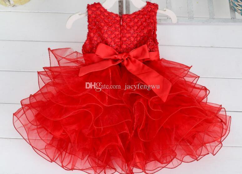 Neonate abiti da principessa abiti vestiti ragazze moda tulle Garza gonna ragazza costume bambini cotone prom abbigliamento vendita calda DHL YD019