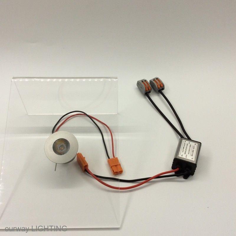 تظهر حالة الفضة مصغرة الصمام الخفيفة AC85-265V 3W جيد الإشعاع الحراري توفير الطاقة الألومنيوم طفيف راحة النازل