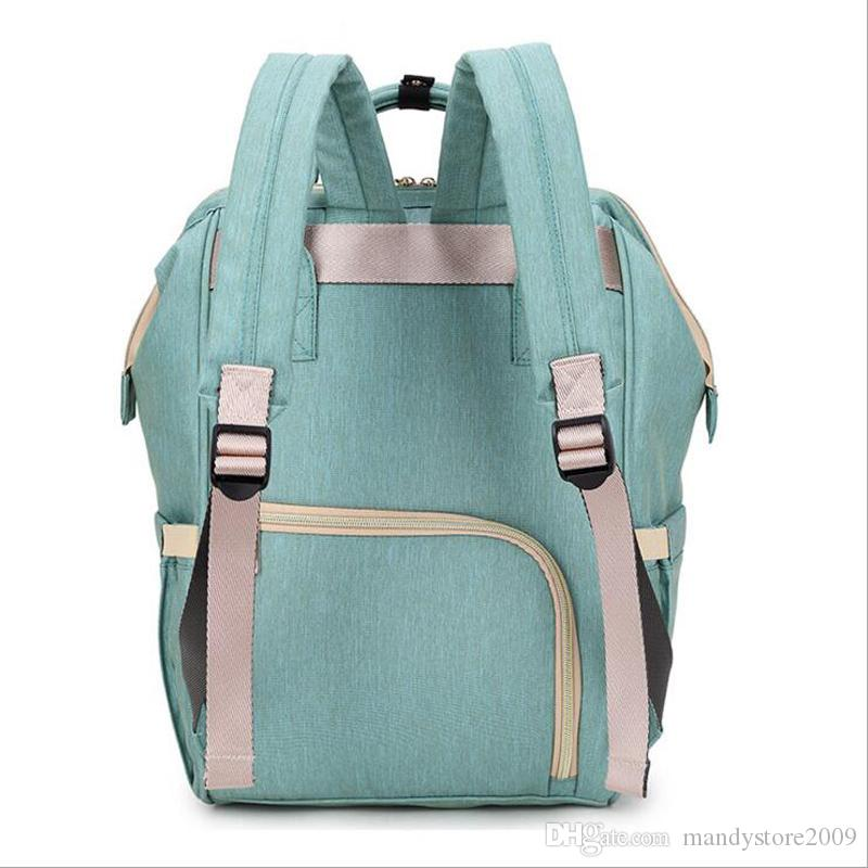 Diaper Bags Mommy Backpack Nappies Backpack Fashion Mother Maternity Backpacks Outdoor Desinger Nursing Travel Bags Organizer