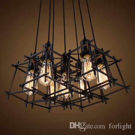 Pendant Lamp Creative Individual Chandelier Lighting American - Individual pendant lights