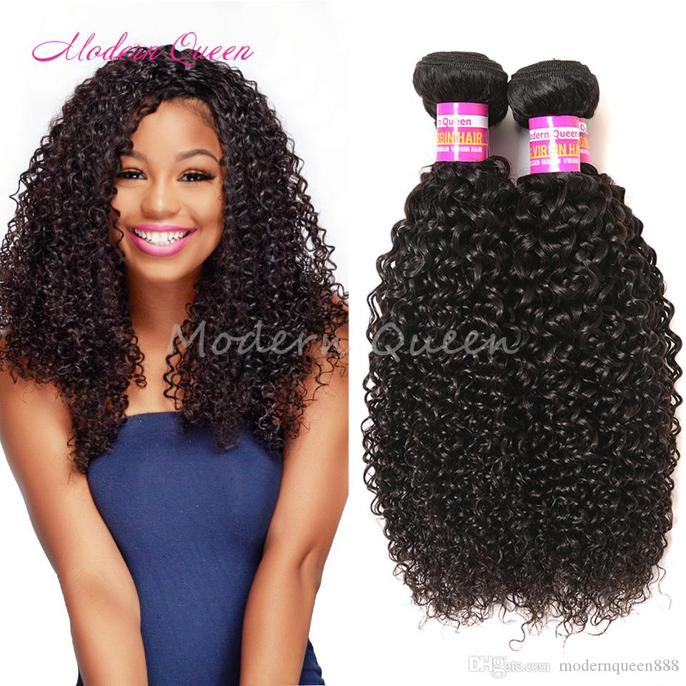 Wholesale Raw Indian Afro Kinky Curly 100 Virgin Human Hair Weave 4