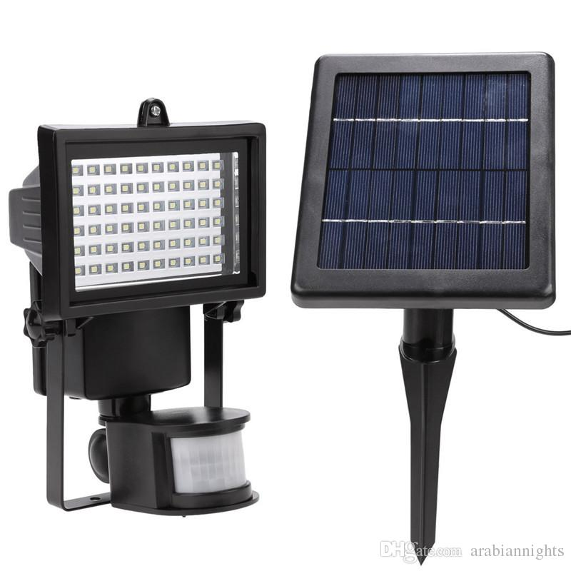 2018 60led solar lights outdoor security flood light waterproof 2018 60led solar lights outdoor security flood light waterproof garden lightning adjustable solar lamp for lawn yard pool from arabiannights aloadofball Images