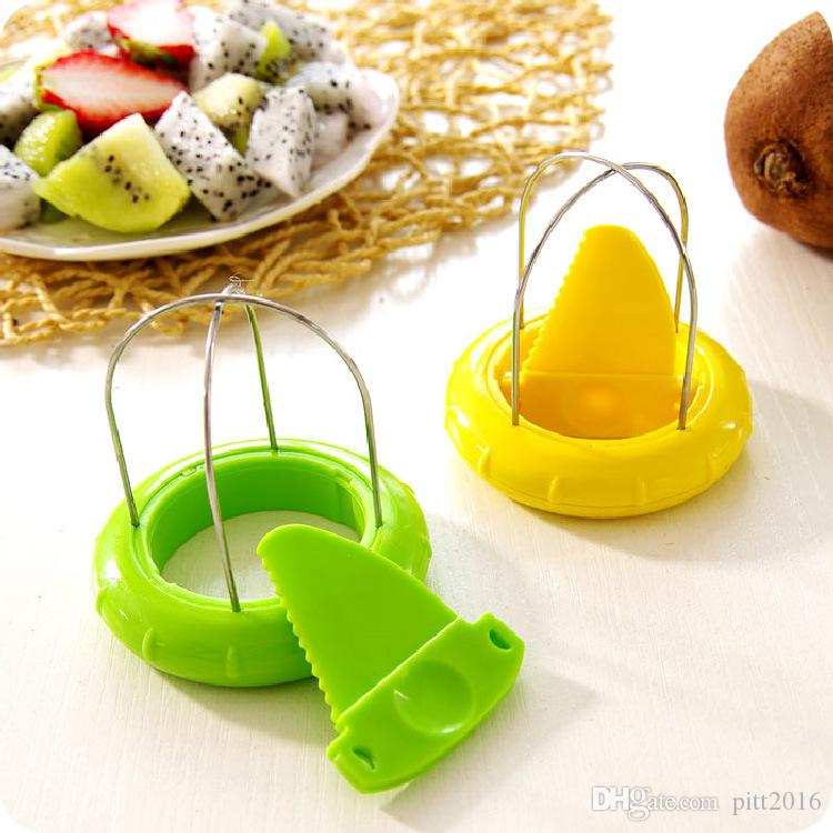Wholesale Retail Package Mini Fruit Kiwi Cutter Peeler Slicer Kitchen Gadgets Tools For Pitaya Fruit Tools